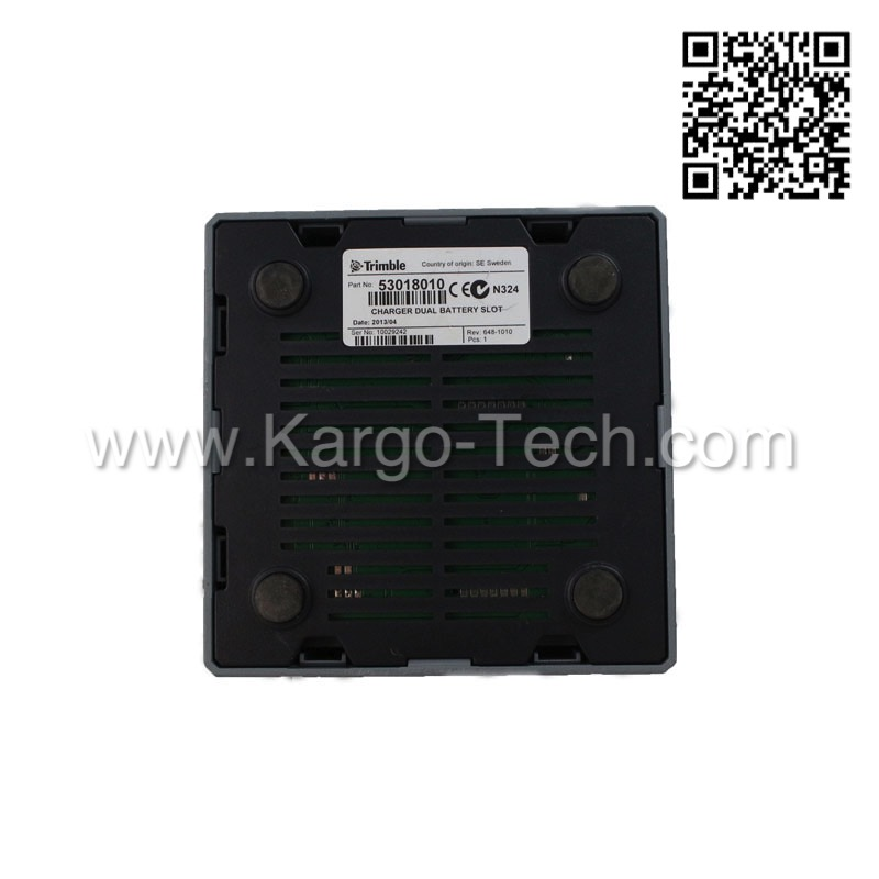 Dual Slot/ 2 Slot Battery Charger 53018010 for Trimble GPS, Total